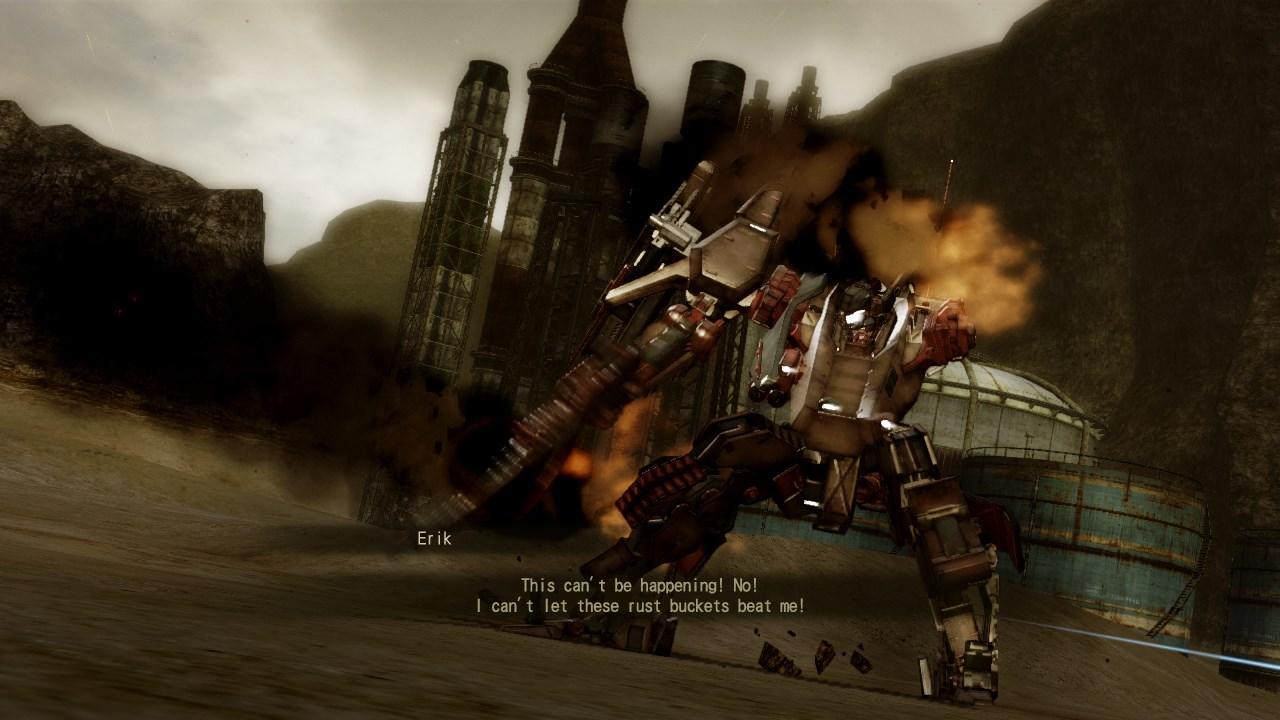 armored core walkthrough