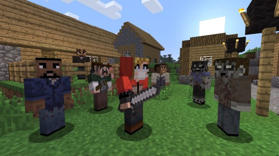 walking dead minecraftskinpack5_walkingdead