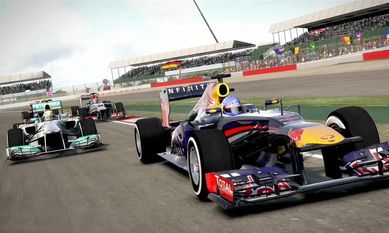 F1 2013 video game hot lap Monza - Cramgaming.com