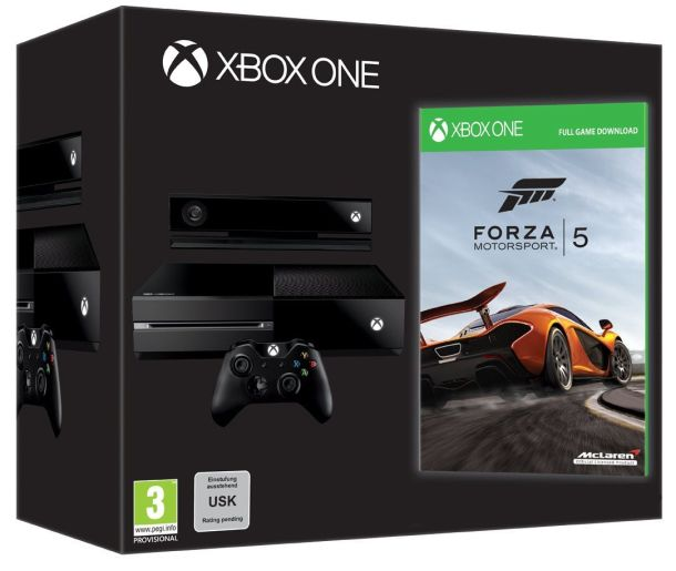 Xbox One Day One Edition now with Forza 5 - Cramgaming.com