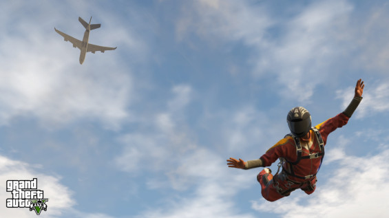 gta v skydive