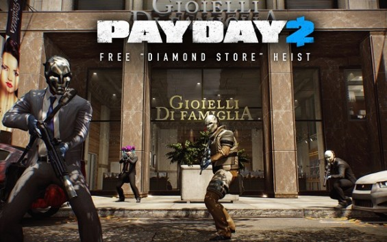 payday 2 DiamondStore