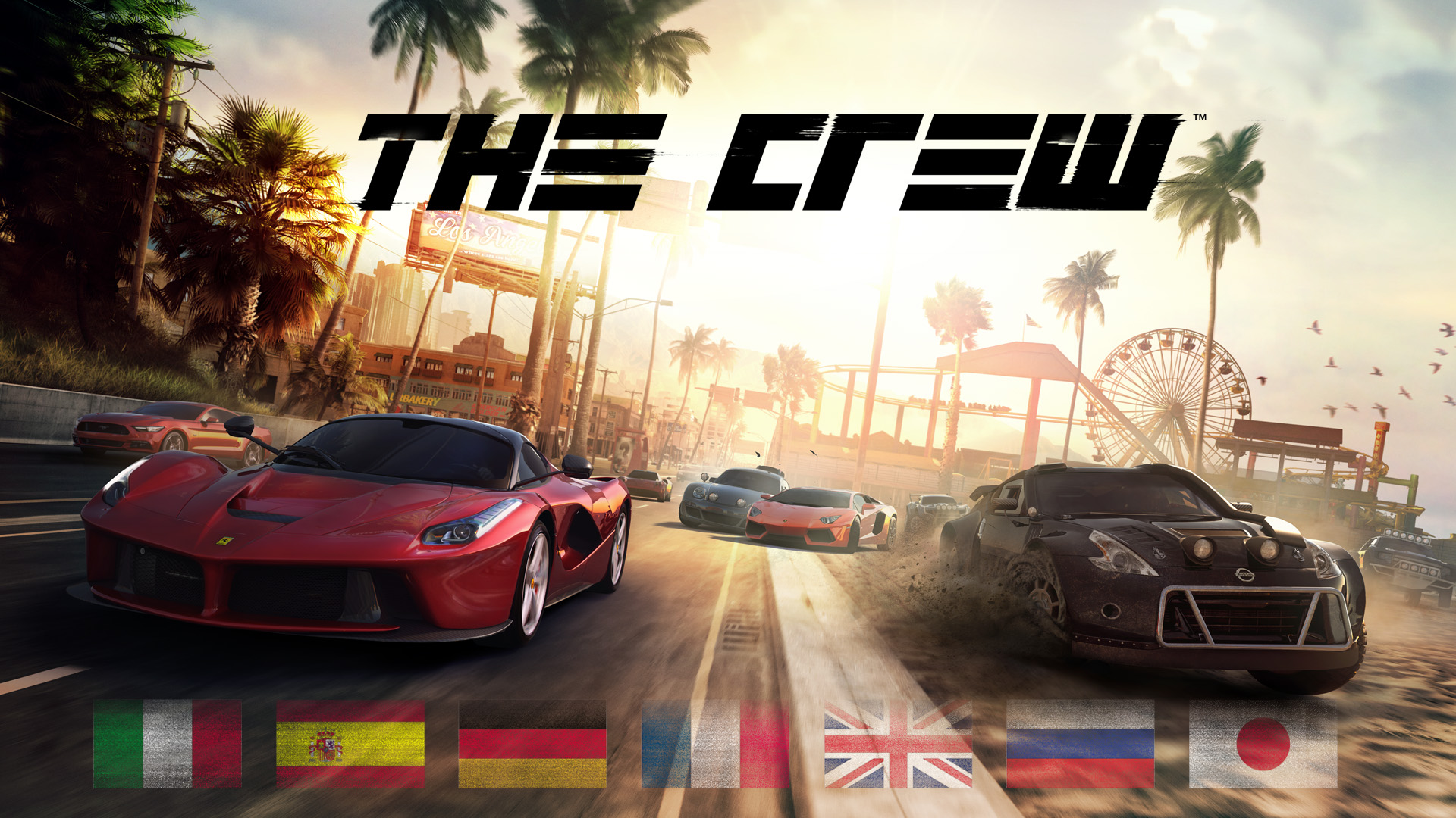 The Crew Map Size - LA to New York in real time video ...