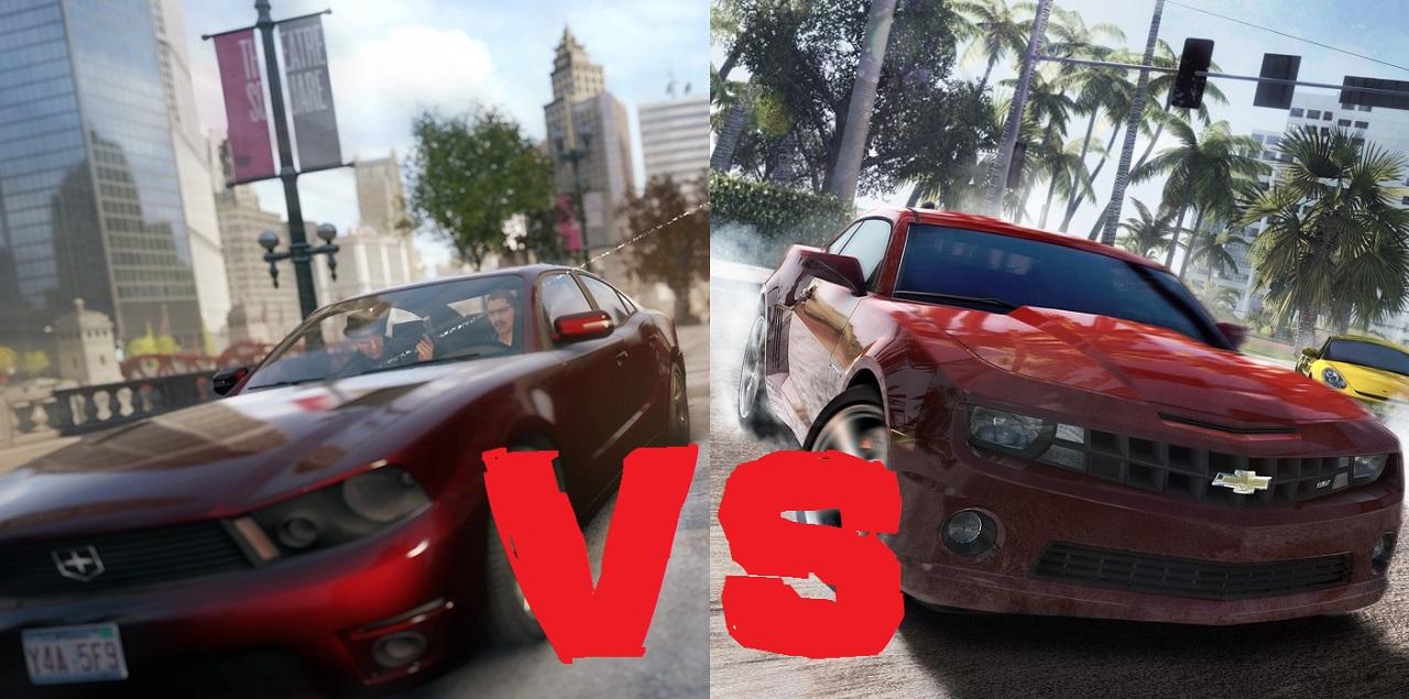 Watch Dogs vs The Crew video comparison