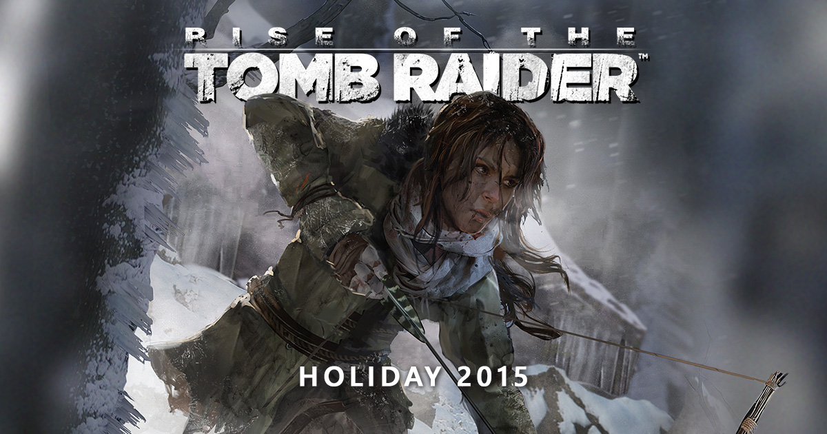 rise of the tomb raider logo