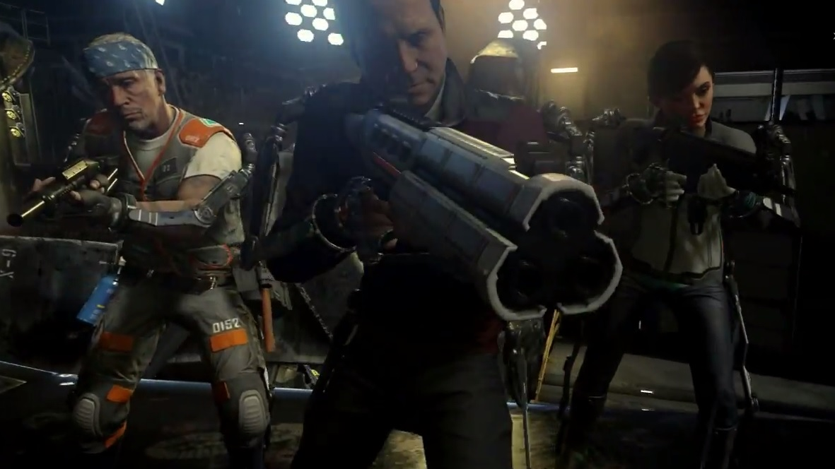 Call of Duty Advanced Warfare Exo Zombies Havoc Trailer ...