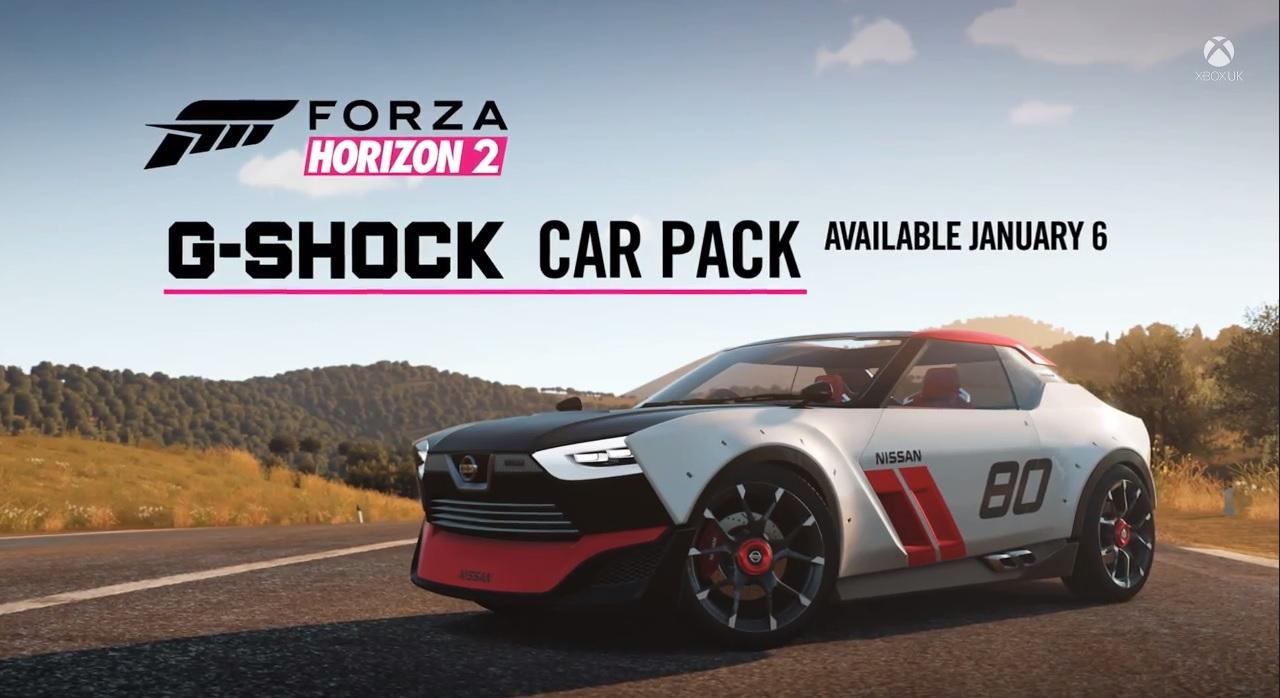 forza horizon 2 g shock car pack trailer. Black Bedroom Furniture Sets. Home Design Ideas