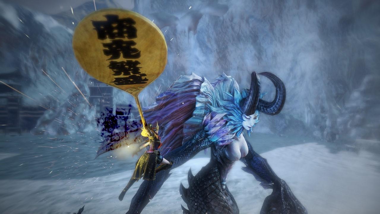 Toukiden Kiwami - New Weapon - Naginata