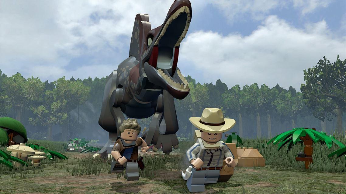lego jurassic world 4