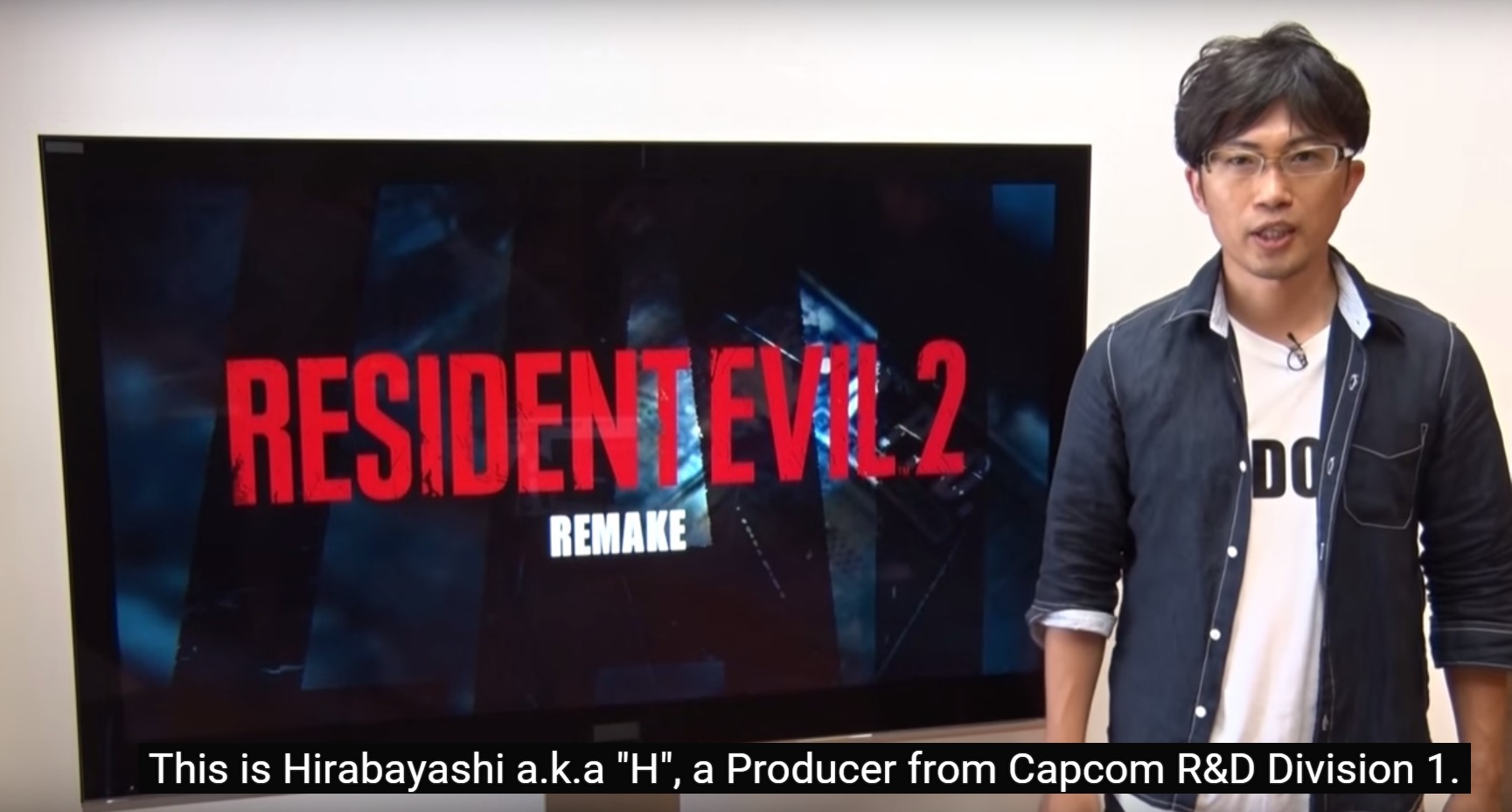 Resident Evil 2 Remake A Special Message from Producer - Cramgaming ... Xbox One Red