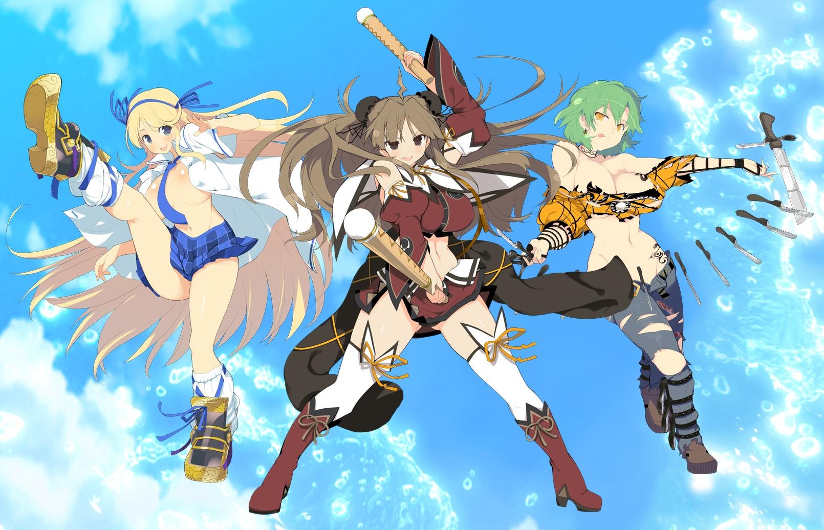 Senran Kagura Estival Versus Update 3 Details Artwork