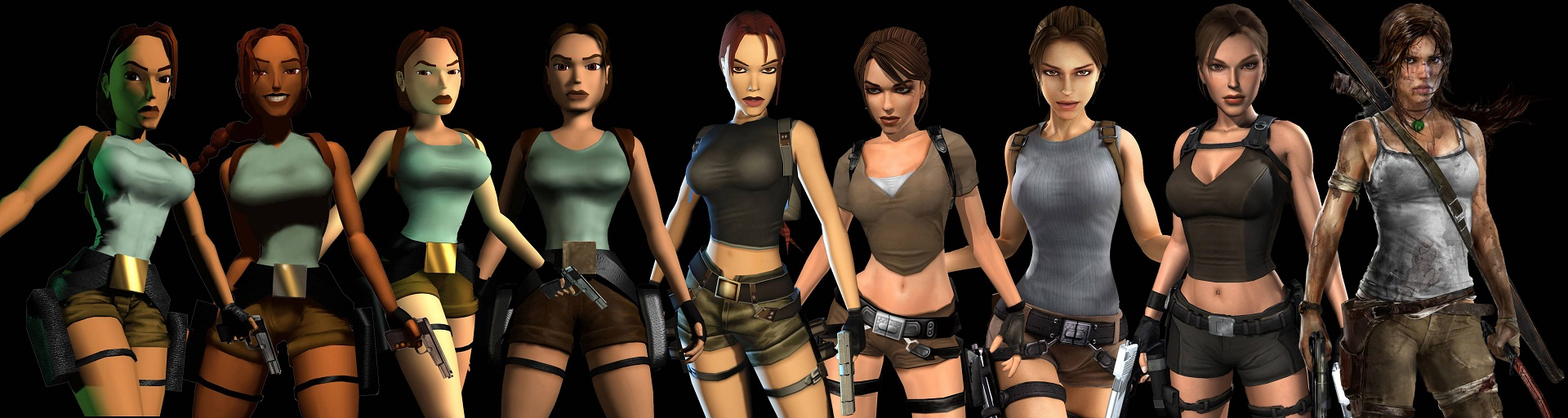 lara crofts evolution