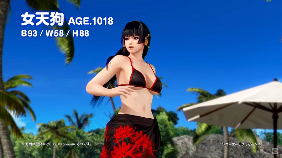 PS4/PS Vita Exclusive Dead or Alive Xtreme 3 Gets New Sexy