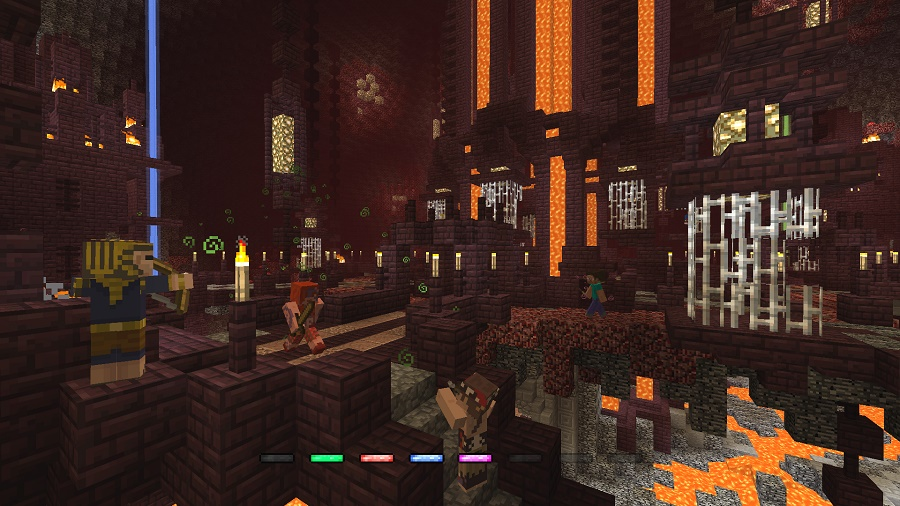 minecraft battle mode crucible map