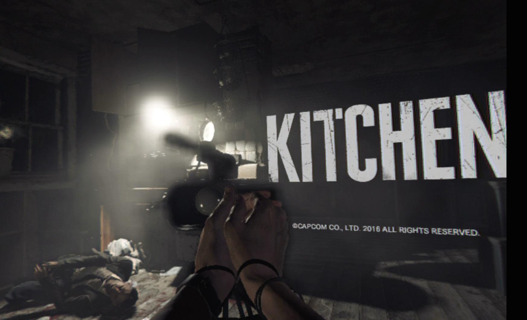 Resident Evil 7 Kitchen Demo Playstation Vr Cramgaming Com