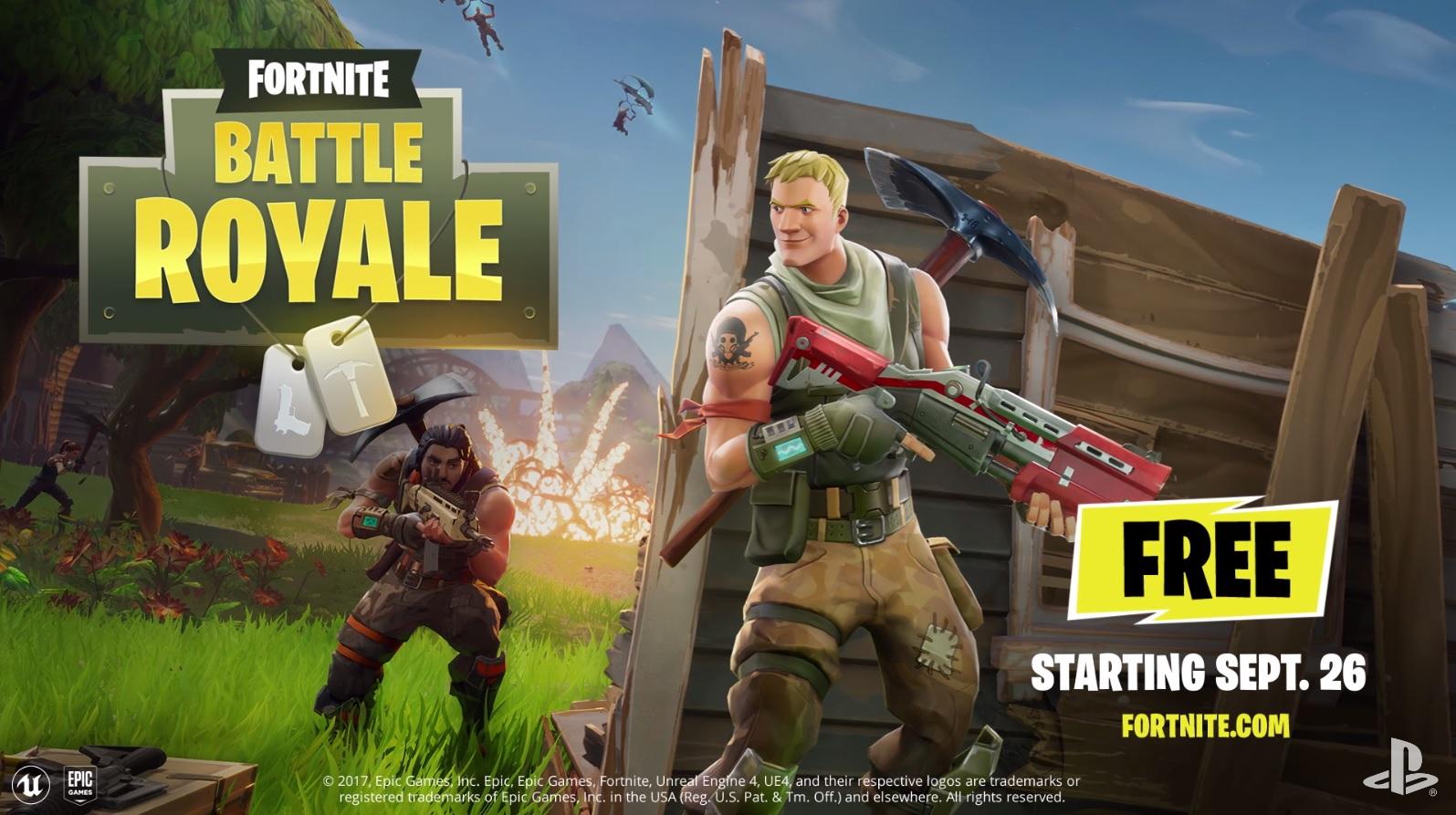Fortnite Battle Royale Gameplay Trailer - Cramgaming.com
