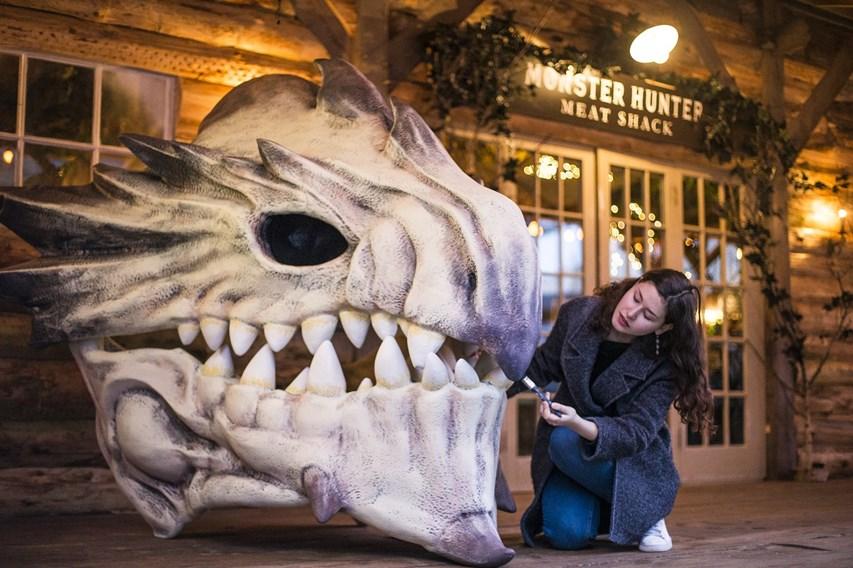 Monster Hunter Meat Shack Opens In London